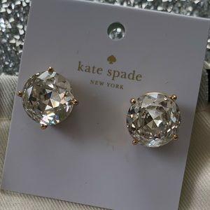 Kate spade large gumdrop stud earrings.